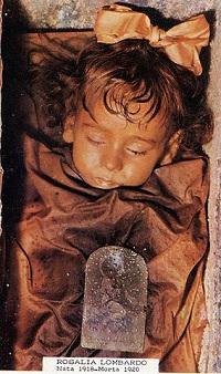 Rosalia Lombardo Capuchin Catacombs
