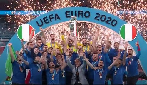 Azzurri 2020 UEFA European Champions