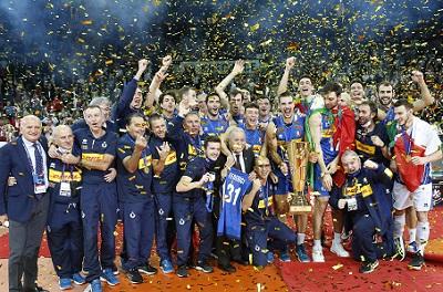 Italian Men 2021 European Volleyball Champions