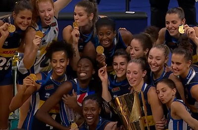 Italian Women 2021 European Volleyball Champions
