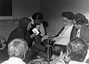 During Oriana Fallaci's famous interview with Khomeini in September of 1979, in which she removed her veil in protest