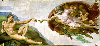 Creation of Adam by Michelangelo, Sistine Chapel