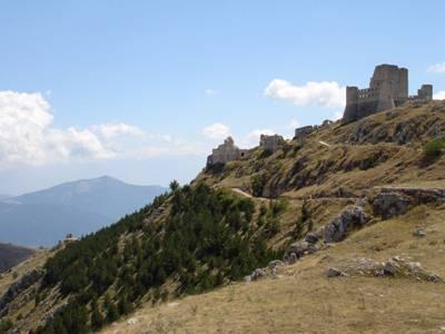 Rocca Calascio & Mountain