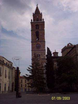 The Cathedral of St. Berardo's bell tower - Teramo