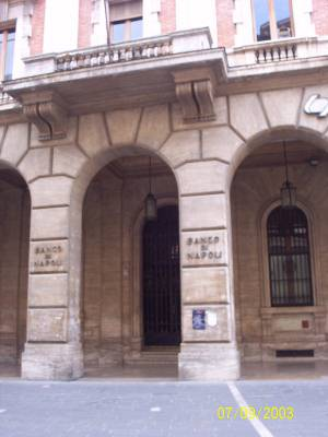 The Banca di Napoli Building - Teramo