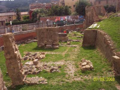 The Remains of the Roman Amphitheatre - Teramo