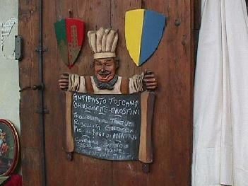 Restaurant Menu Arezzo