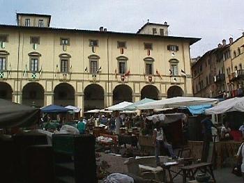 Merchants in the Piazza