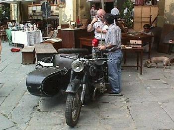 Vintage Motorcycle Arezzo