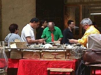 Examining the Merchandise Arezzo