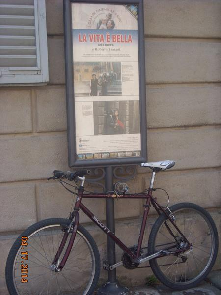 Antiquated Bicycle Arezzo
