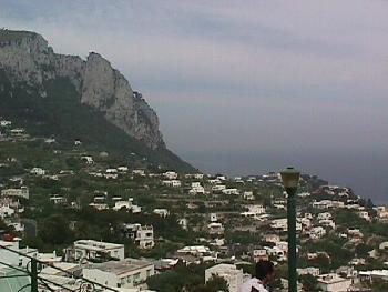 A Mountainside of Capri