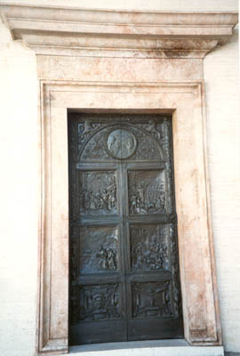 Right Side Door by P. Canonica