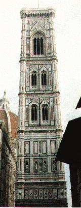 Campanile di Giotto in Florence