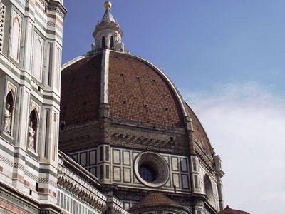 Basilica di S. Maria del Fiore's dome in Florence