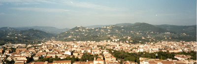 Mountains Just Beyond Florence