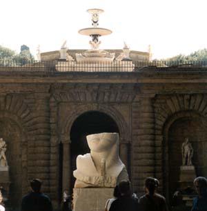 Courtyard of the Palazzo Pitti