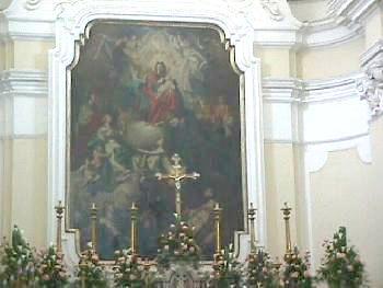 Painting in La Collegiata