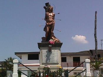 San Sebastian Statue