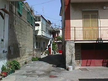 A small side street in Lausdomini, Marigliano