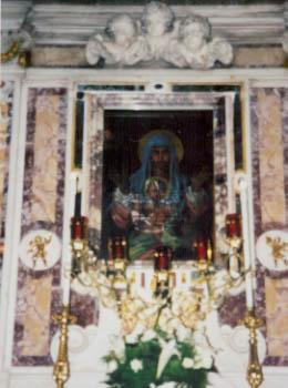 Madonna della Civita Painting