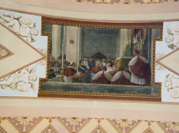 A Wall Mural in the Santuario della Madonna della Civita