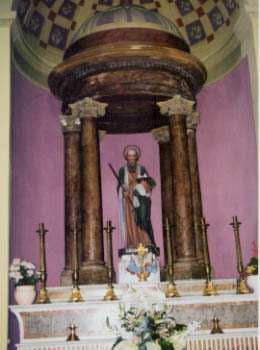 San Gioachino Statue
