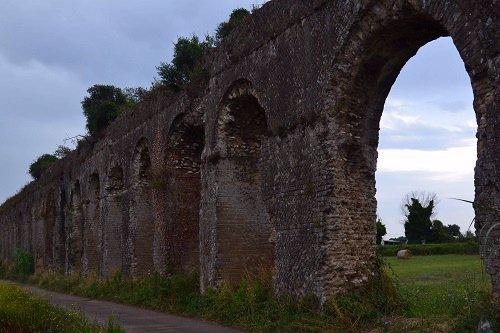 Roman Aqueduct - Minturno Italy.