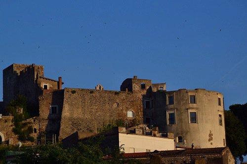 Castello Baronale (Baronal Castle) in Minturno, Italy