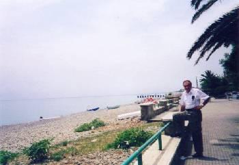 Coastline at Amantea