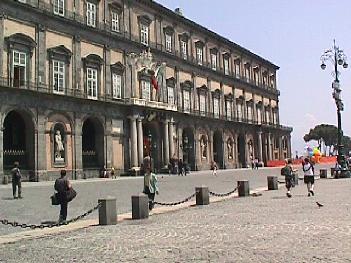 Royal Palace/Palazzo Reale entrance