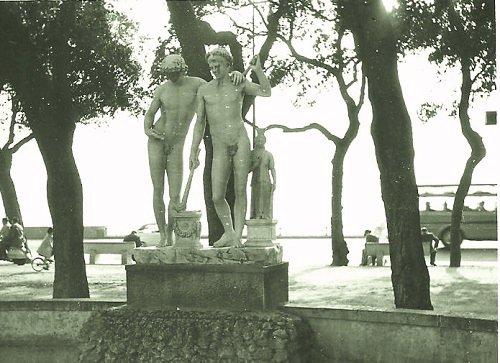 Statue Naples Italy