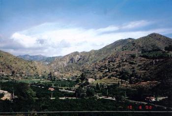 Mountains of Calabria