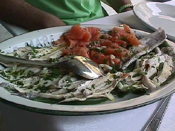Tomato & Fish Dish