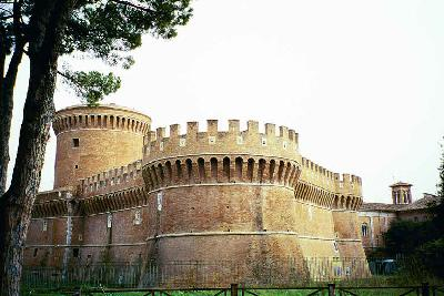 Medieval walls of Rome