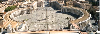 Panoramic View of St. Peter's Square