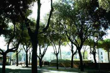 A park located in Rome