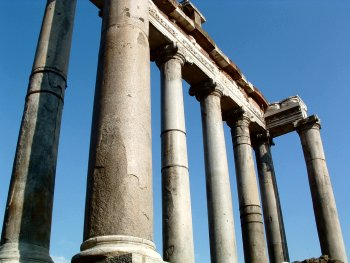 Temple of Saturn in the Forum Romanum