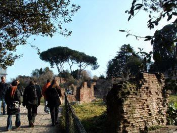 Garden in the Forum Romanum