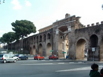Medieval Roman Walls