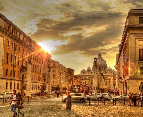 Via della Conciliazione Rome