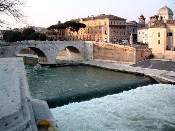 Ponte Pedonale sul Tevere