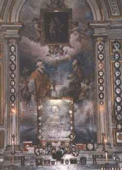 Altar Painting, Chiesa di Santi Vincenzo e Anastasio in Rome