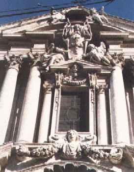 Church exterior Chiesa di Santa Vincenzo e Anastasio