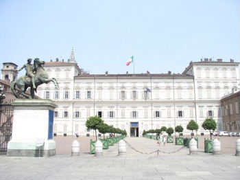 Palazzo Reale Equestrian Statue