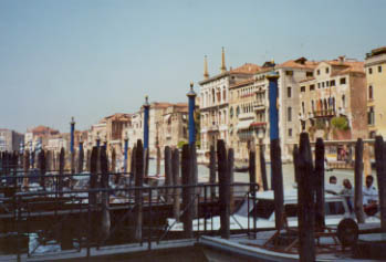 A Pier Along the Grand Canal