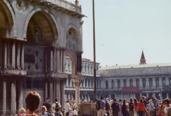Exterior Architecture of the Basilica di San Marco