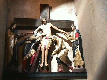 The Deposition of Christ, Chapel of the Deposition in the Duomo at Volterra